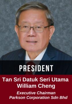 Tan Sri Datuk Seri Utama William Cheng - executive chairman parkson corporation sdn bhd