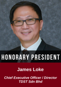 James Loke - chief executive officer & director TDST sdn bhd